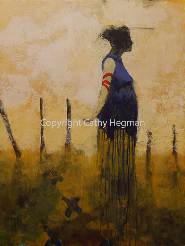 Quiet Title Cathy Hegman 48 x 36 inches
